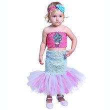 Детское платье-пачка с рисунком куклы Lol для девочек; платье для куклы Lol Surpris; платье до щиколотки в стиле пэчворк; платье русалки для девочек(Китай)