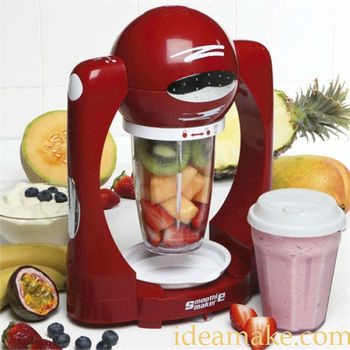 smoothie maker as seen on tv red and white color ce rohs. Black Bedroom Furniture Sets. Home Design Ideas
