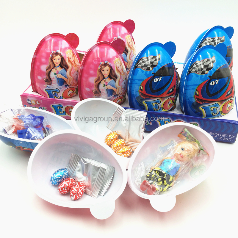 max surprise egg with chocolat magic popping candy toy
