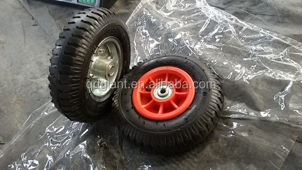 Small wheel and tire , pneumatic tire