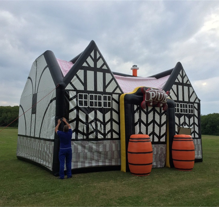 18ft by 18ft Inflatable The Pub outdside use Inflatable night bar Man club THE BAR air house