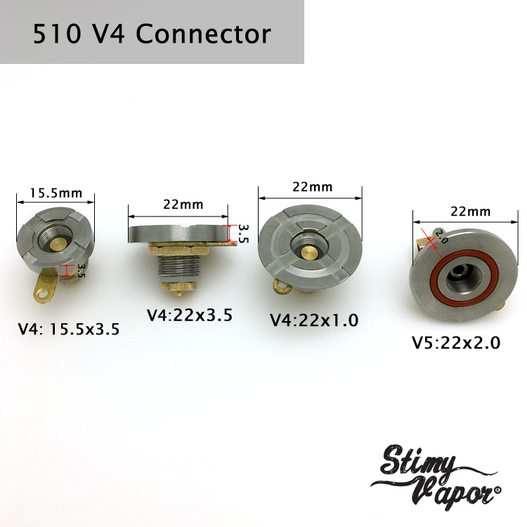 22mm Spring Loaded 510 Connectors Use For Box Mod - Buy 510 Connector For  Box Mod,510 Connector 22mm,510 Mod Connector Product on Alibaba com