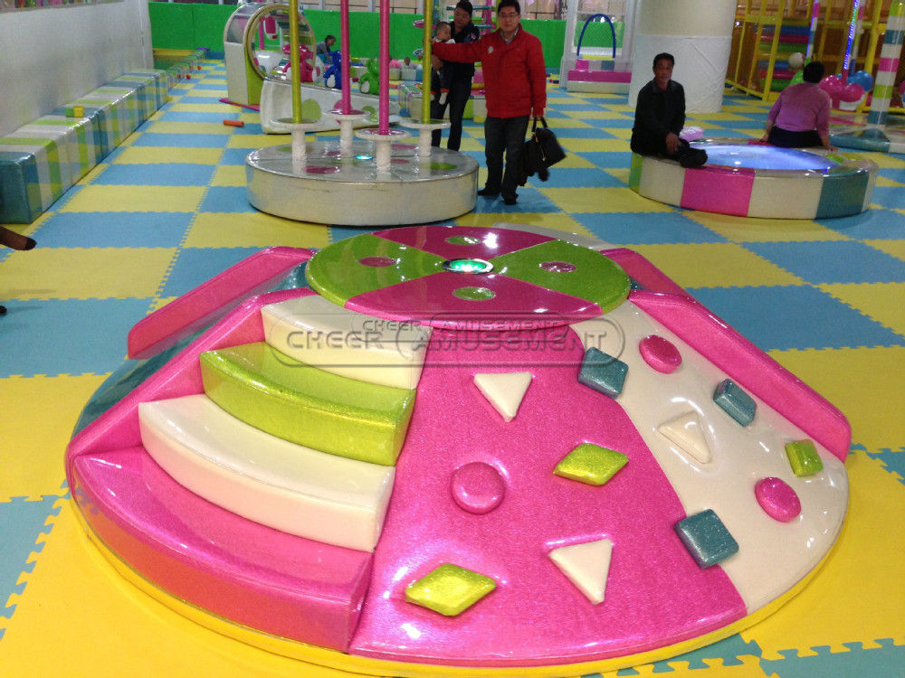 Cheer Amusement Revolving Climbing & Slide Indoor Playground Equipment for Sales