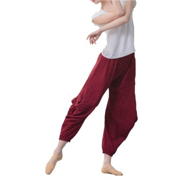 Dance Harem Pants Modern Ballet Dance Costumes Yoga Dance Pants