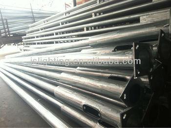 Q acciaio strada pali della luce acciaio zincato elettrico pole