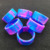 OEM service hot sale stylish cute smilely silicone watch shape vape bands