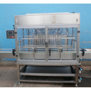 high capacity Organic Virgin Coconut Oil for bottles sauce filling machine