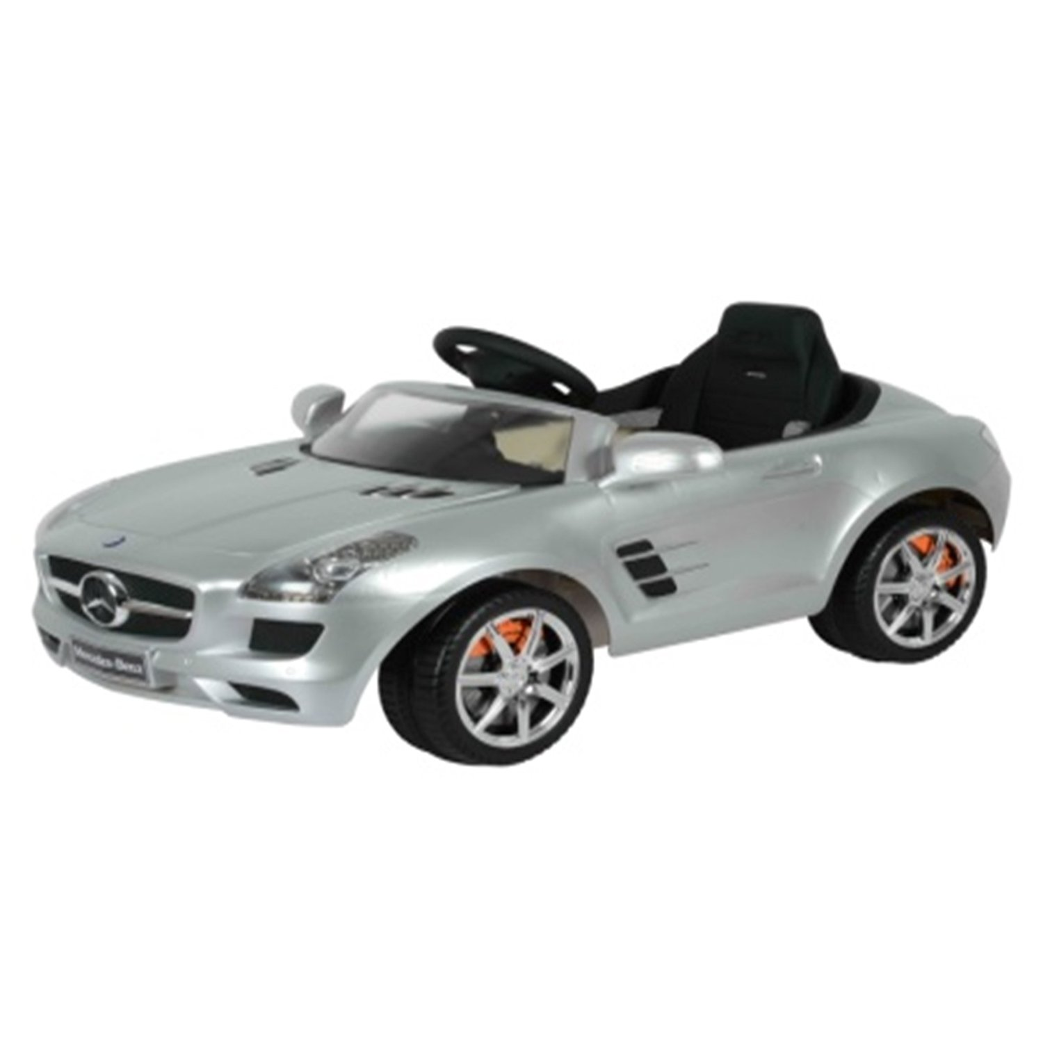 Mercedes Benz SLS AMG Officially Licsensed 6V Battery Powered Ride On - Silver