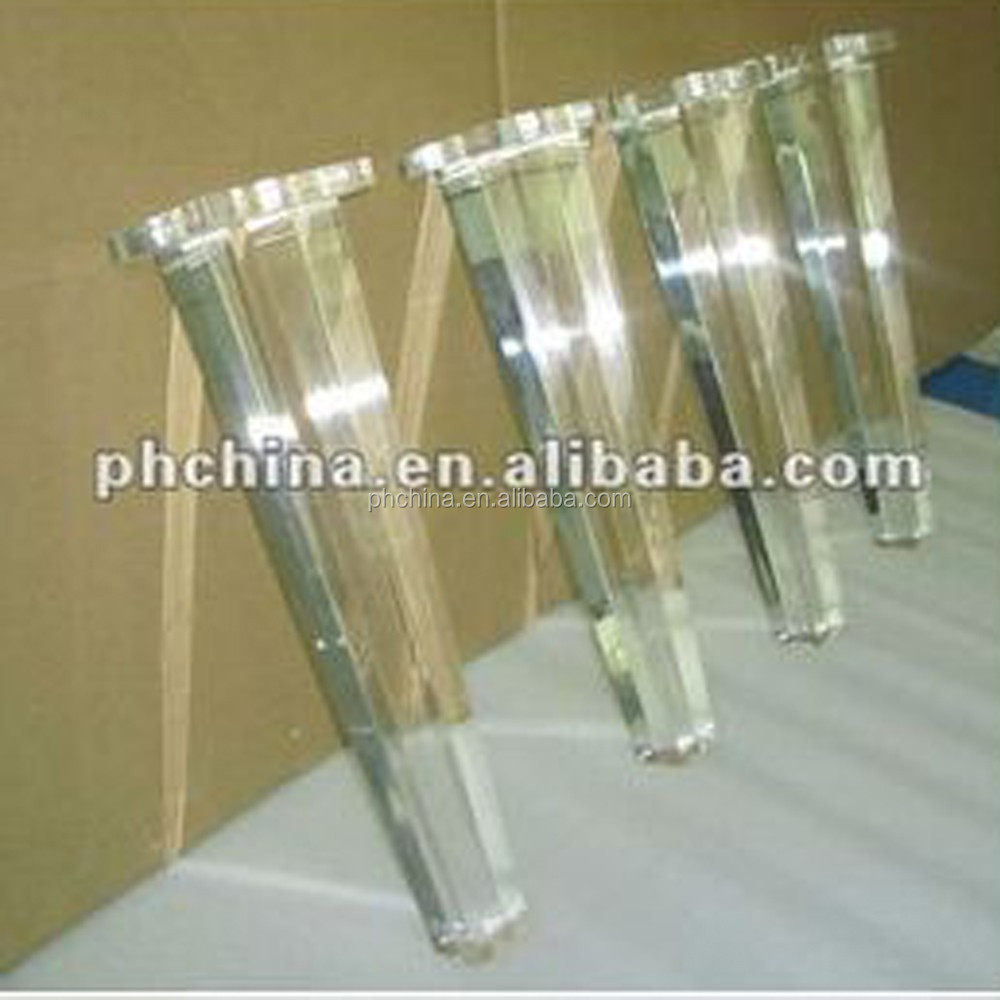 Sgs Verified Transparent Acrylic Table Legs Clear Acrylic Legs For Furniture  Acrylic Sofa Chair Legs   Buy Acrylic Legs For Furniture,Clear Acrylic  Table ...