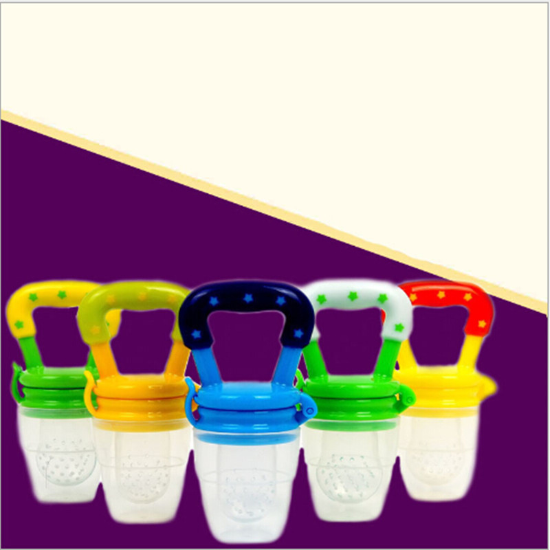 2016 New High Quality Baby Feeding Pacifier Soother Vegetable Vitamin Fruit Bite Music Baby Supplies
