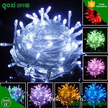 outdoor decoration waterproof fairy lightbattery powered led christmas lights12 volt led string
