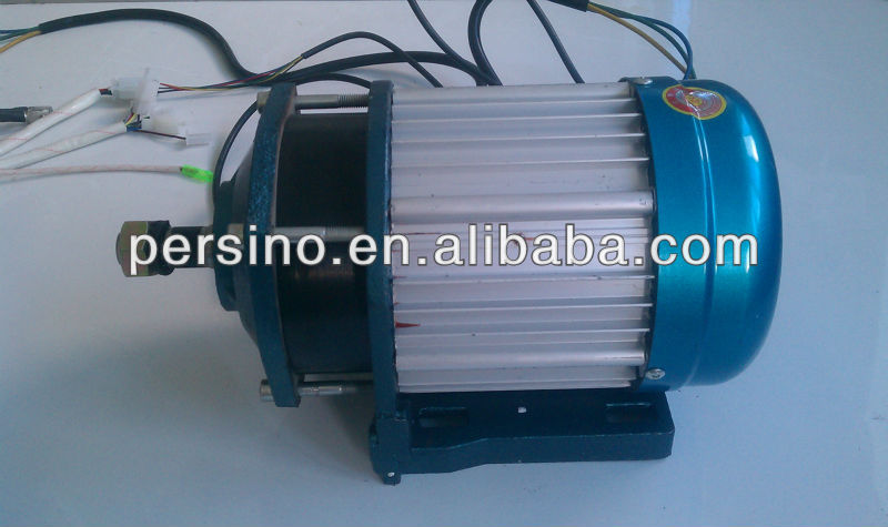 48v 2500w electric tricycle bldc motor with reduction gear