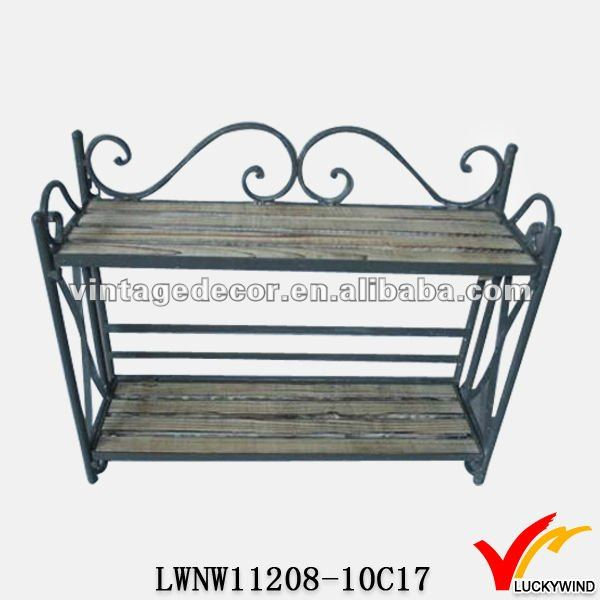 Vintage French Country Style Metal Shoe Rack   Buy Metal Shoe Rack,Multipurpose  Shoe Rack,Metal Shoe Rack Designs Product On Alibaba.com