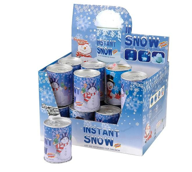 Wholesale fake magic outdoor artificial instant snow in a