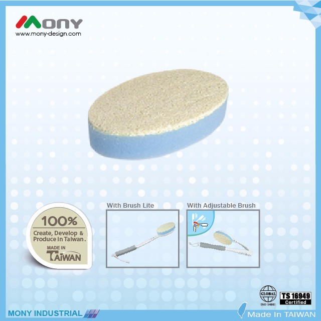 Mony TOP QUALITY natural Loofah sponge bath brush