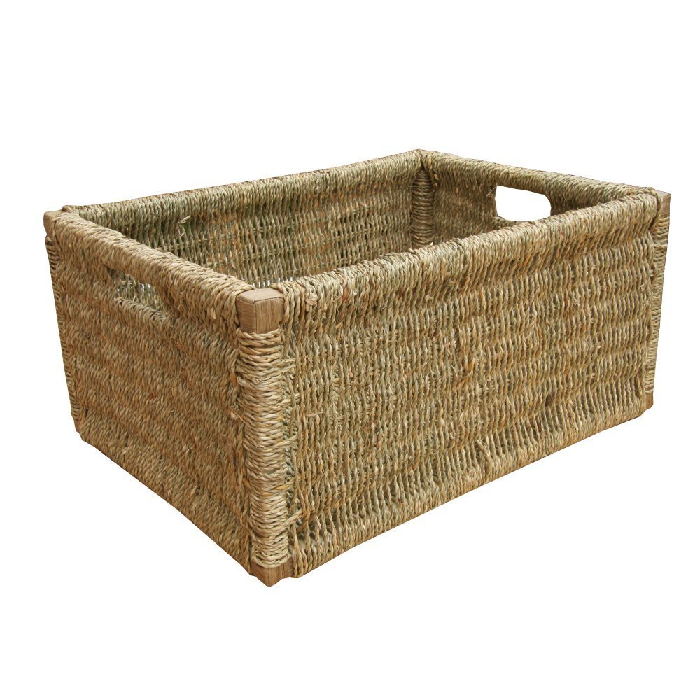 High Quality Get Quotations · Large Seagrass Storage Basket