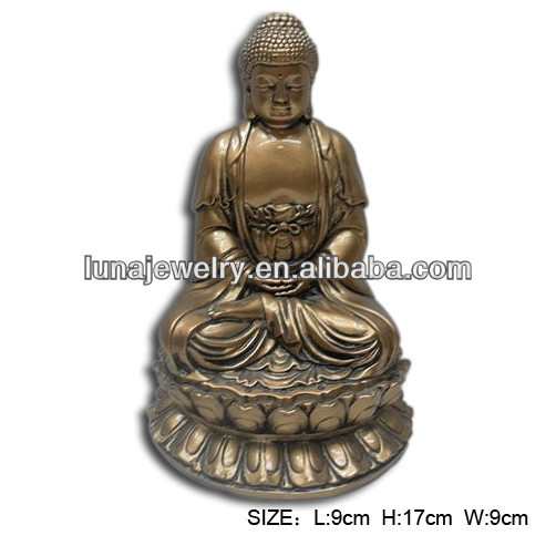 Chinese Gold color buddha ,Resin Buddha Statue,Gautama Buddha
