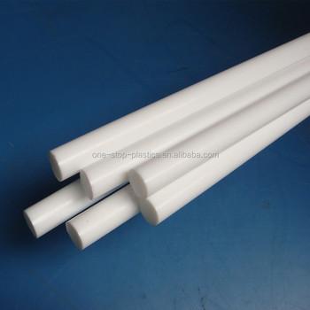 High Hardness White Plastic Delrin Material Pom Rod Buy