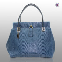 New Arrival Design Winter Style Factory Directly Customize Women Python Leather Bags