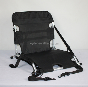 Portable Kayak Seat No Legs Stadium Folding Cushion Chair Without Arm