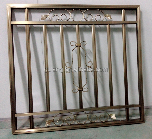 Alibaba steel latest window grill design buy steel for Window design grill