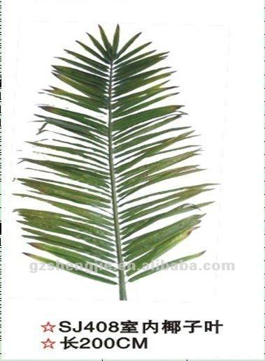 Artificial de coco hoja fronda para la decoraci n de for Fronda decoracion
