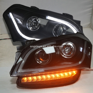LED Headlight For Kia Soul LED Angel Eyes Head Lamp 2008-2011 year