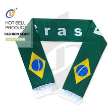 Hot selling new design custom printing country flag scarf