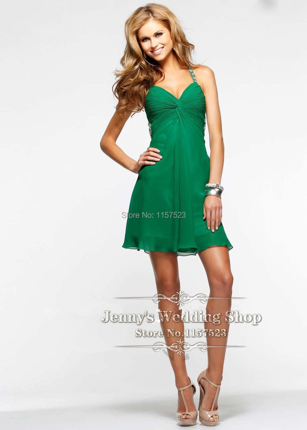 Cheap green dress