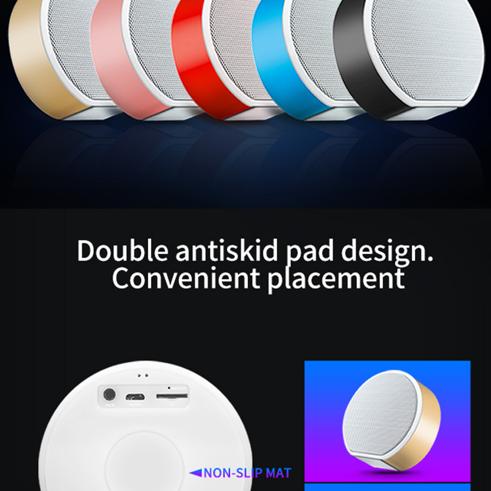2019 Outdoor portable colorful led speakers wholesale waterproof Wireless stereo bluetooth Speaker