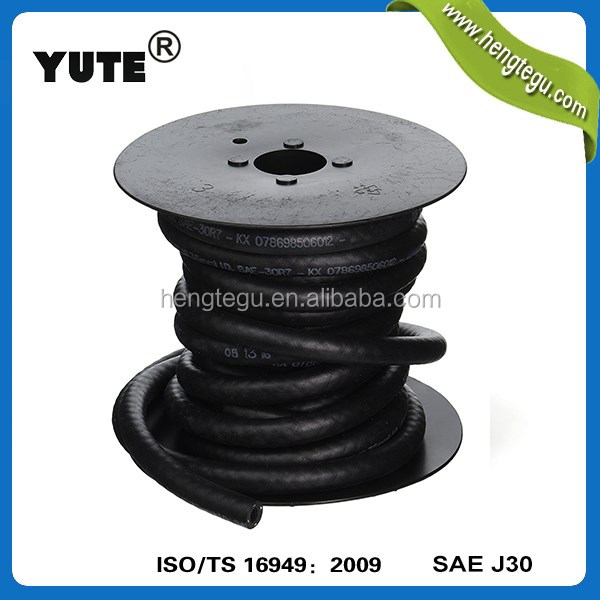 YUTE automobile parts fkm rubber sae 30r9 fuel hose for fuel systems