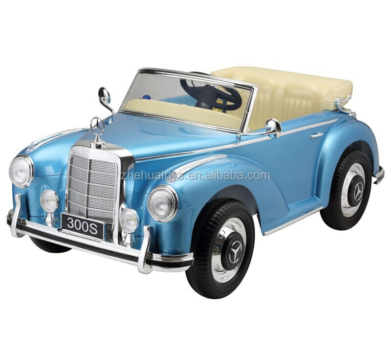 hot sale classic licensed benz 300s ride on car toy12v kids