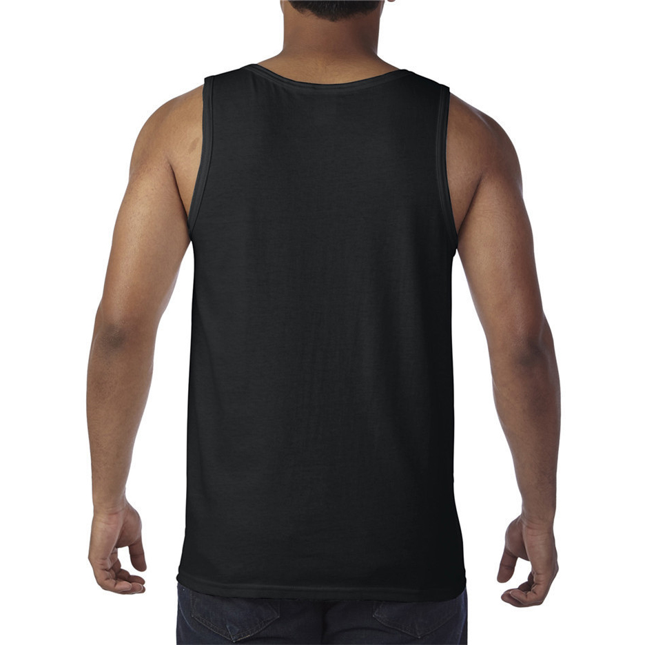 Oem  Embroidery Custom 100% Cotton T shirt and tank top