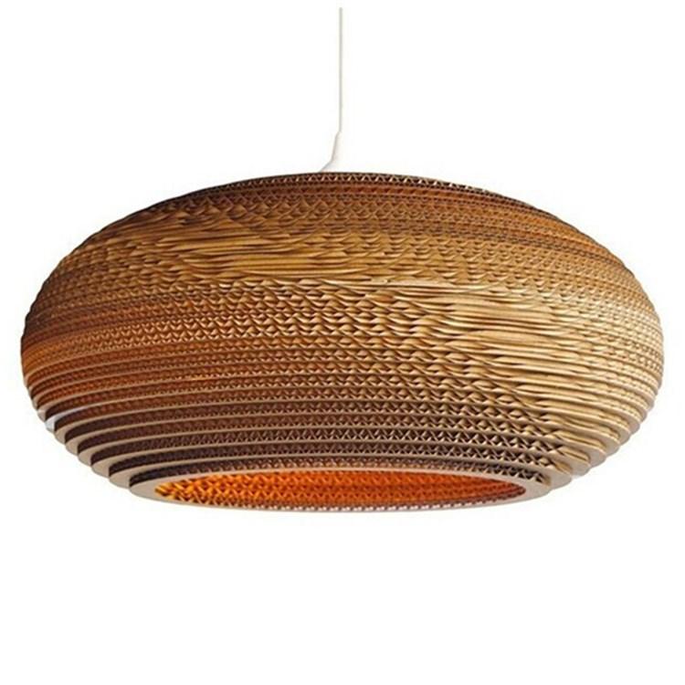Pendant light mg 1490 e decorative corrugated paper pendant pendant light mg 1490 e decorative corrugated paper pendant lighting home lights aloadofball Gallery