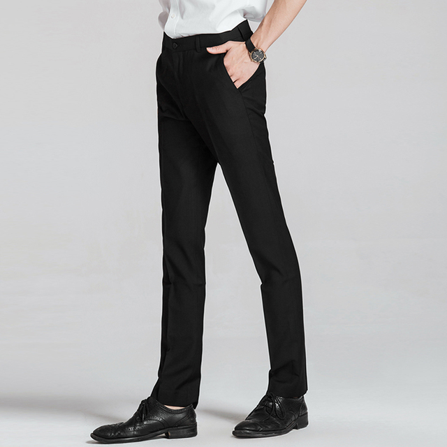 latest pants style mens dress pants chinese clothing factory