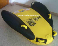 China supplier Towable Inflatable Raft 2 person Float Tube Boating Water Ski Toy River Lake FUN,approved EN71&ASTM