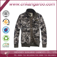 Cotton polyester rip stop Military style wear resistance camouflage man jacket