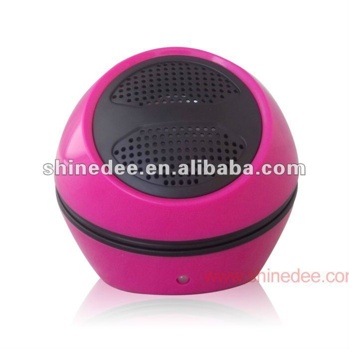 Fashion portable stereo speaker,mini active subwoofer(SP-105)