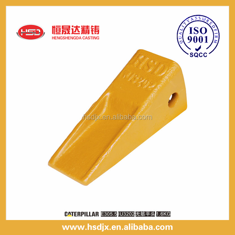 Construction Machinery Equipments Excavator Attachments And Spare Parts Bucket Tooth Point 1U3202