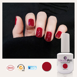 China Manufacturer 1000 Colours UV/LED Natural Gel Polish Soak off Gel Color Private Label Nail Gel Polish