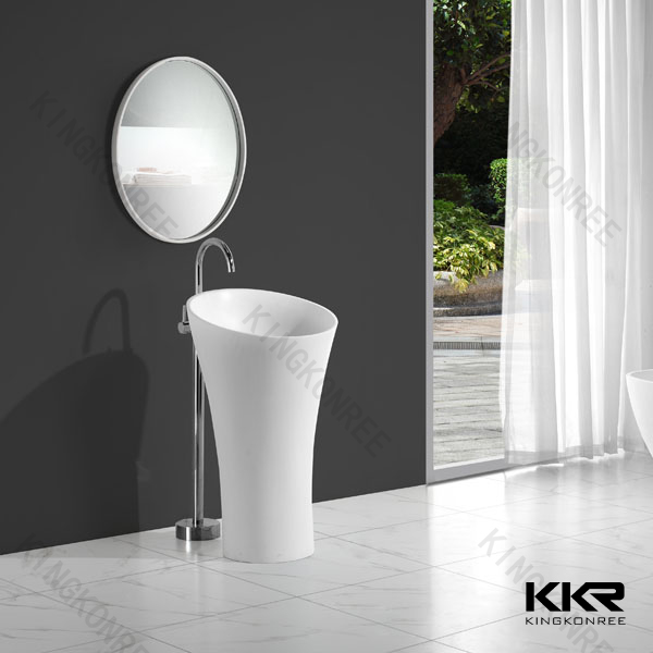 kkr lavabo d 39 angle de salle de bain avec miroir miroir de. Black Bedroom Furniture Sets. Home Design Ideas