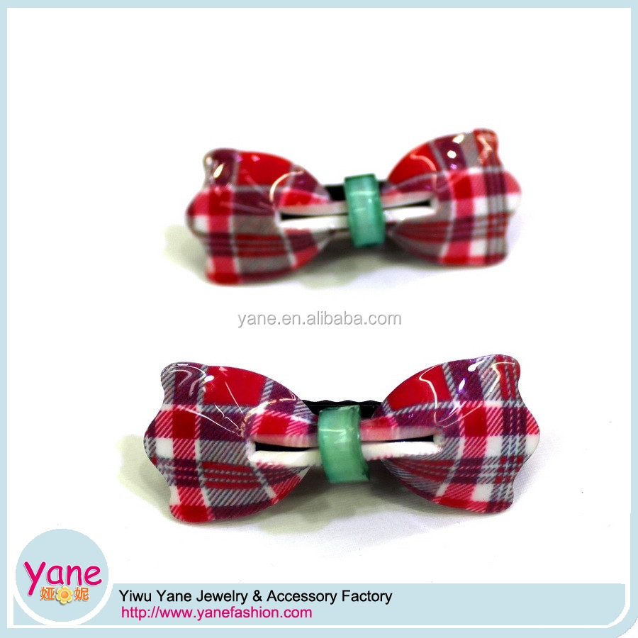 Girls hot hairgrips fancy acrylic baby bow hair clips