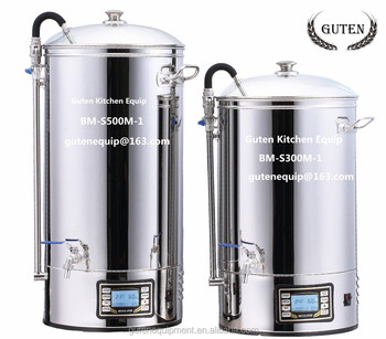 BM-S500M-1 Beer Boiler / Guten Kitchen Equipment / Mash Tun Equipment / Cerveza / Barriles / 40L 50L BEER MASH TUN