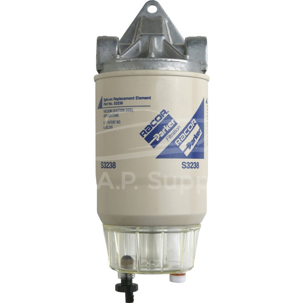 Get Quotations · 3150R Racor Fuel Filter/Water Separator Assembly