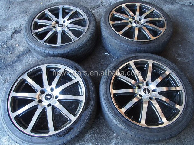 Used C1 Impul Wheels Rims Nismo Z33 Z32 Gtr Gts 17 5x114.3 8jj 9jj ...