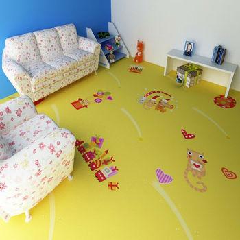 Kids Bedroom Vinyl Flooring thickness 2.2mm kids room vinyl flooring/bedroom vinyl cartoon