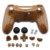 Custom Hydro Dipped Woodgrain Full Housing Shell Cover Case With Button Kit For PS4 Wireless Controller