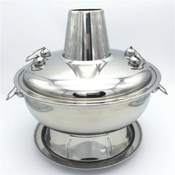 Chineses Charcoal Hot Pot/ Heated Serving Pot/charcoal chimney Hot pot