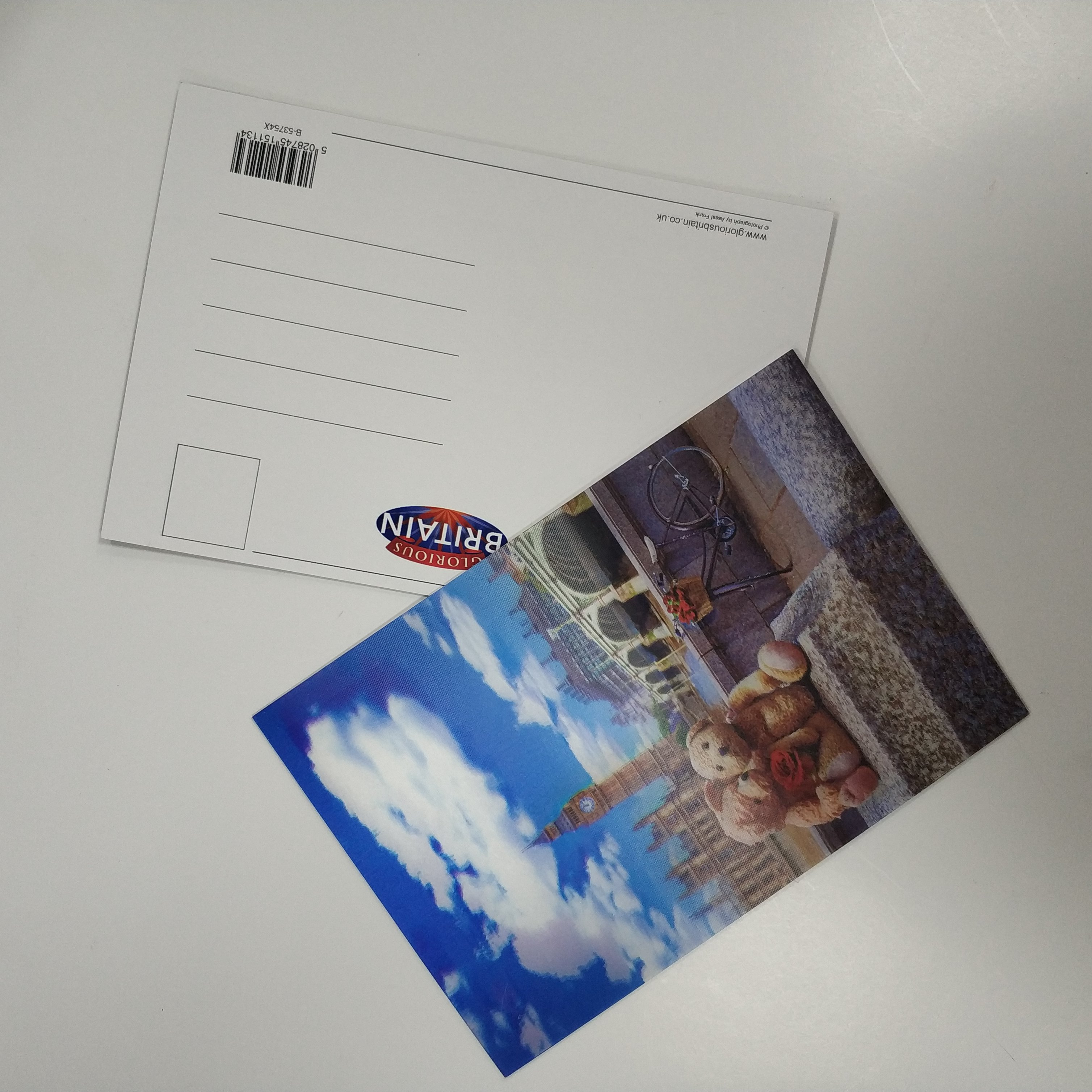 Печать открытки из фото