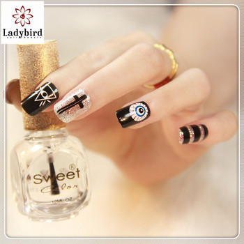 Fashion New Colors Nail Art Decorations Design Nails Stickers